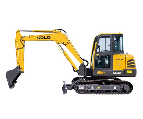 百色E665F挖掘机
