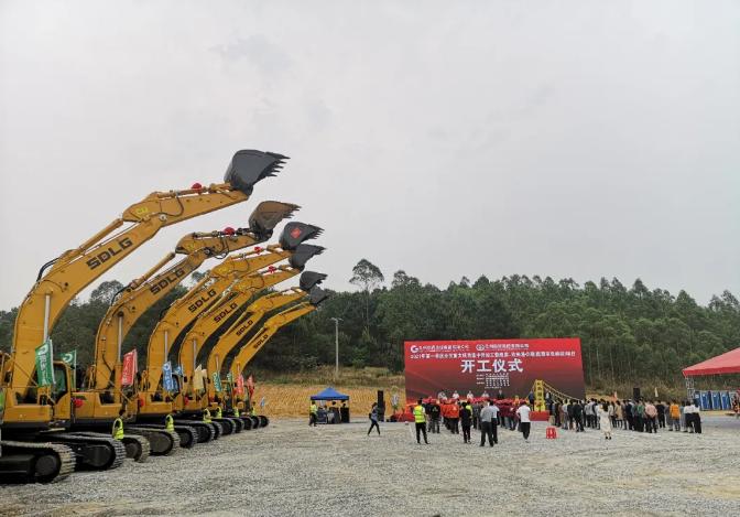 强强联合,山东临工助力广西基础设施建设